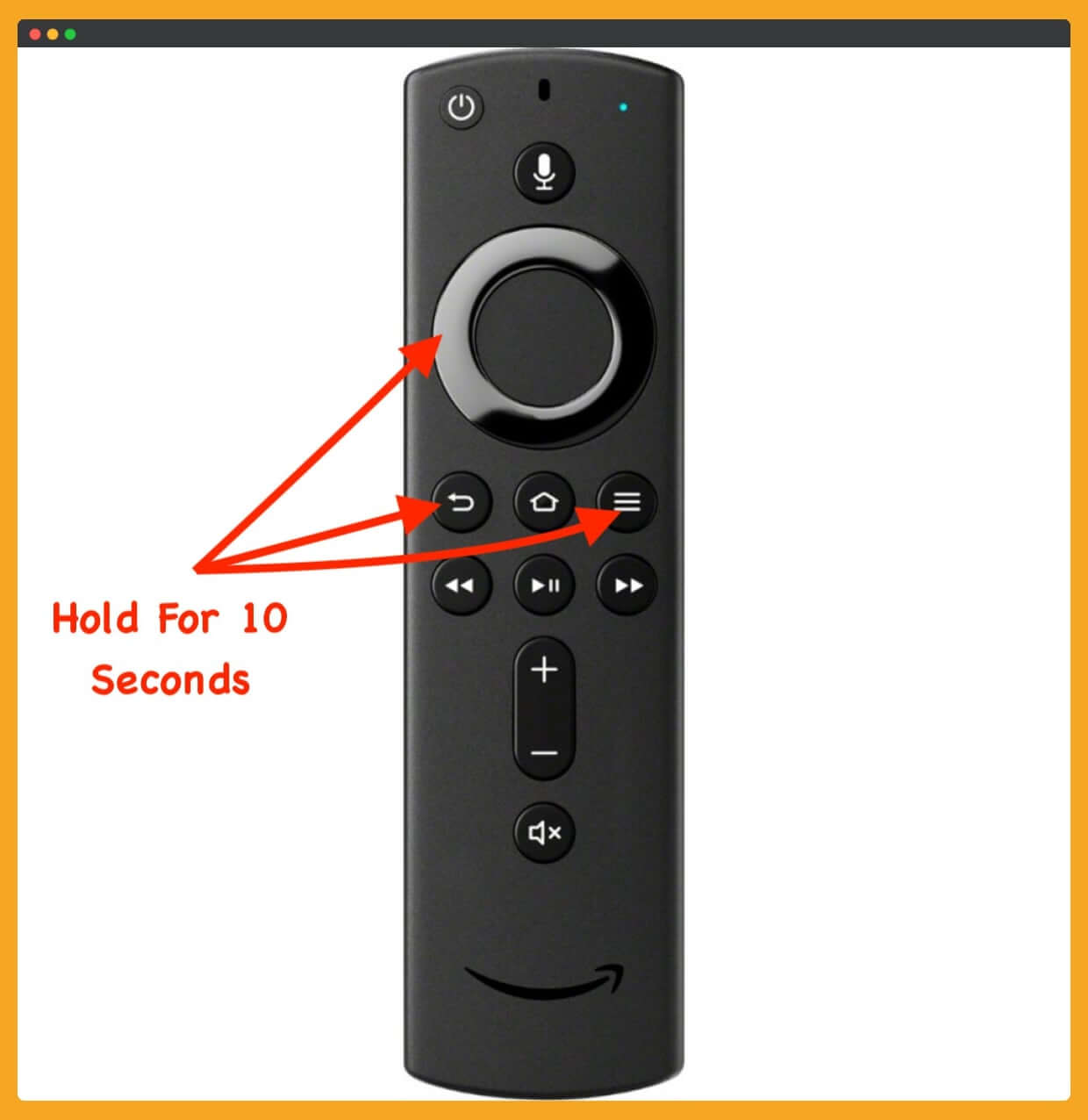 Amazon-Firestick-Remote-Not-Working-Solution