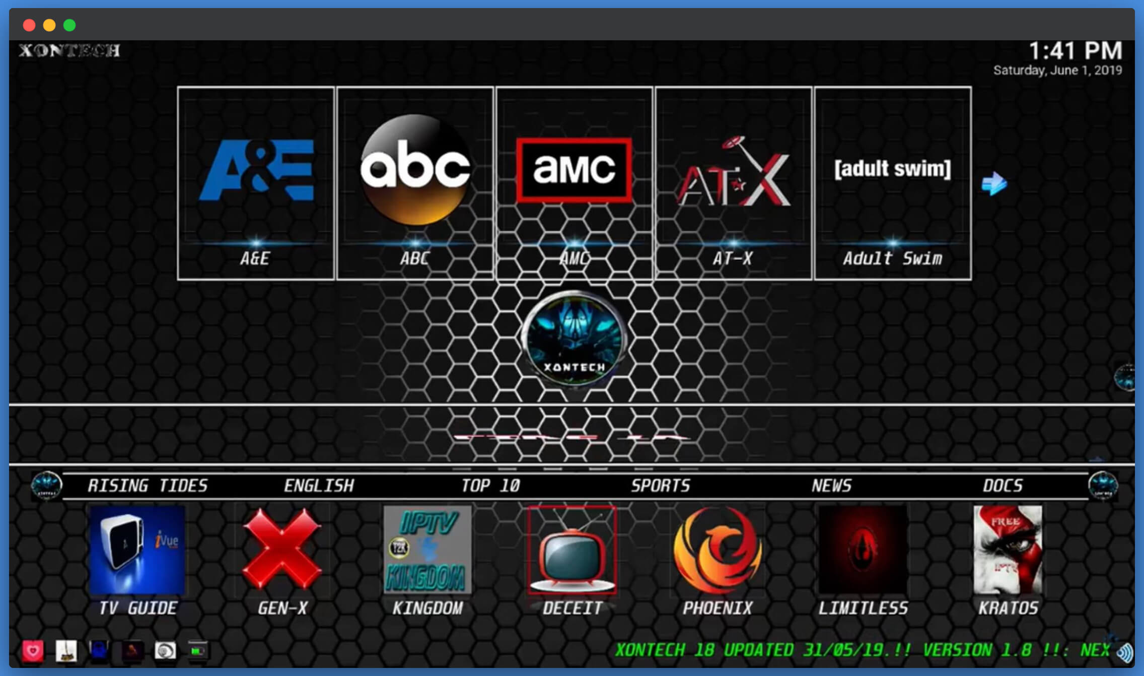 Xontech-Kodi-Builds