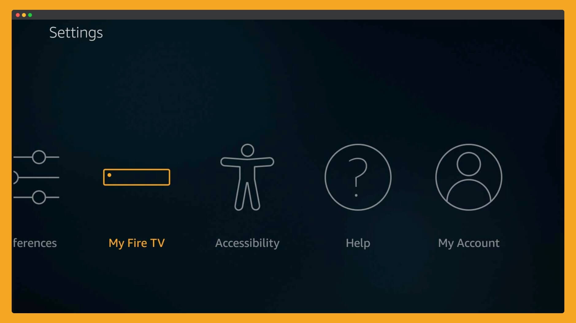 click-on-My-Fire-TV-section