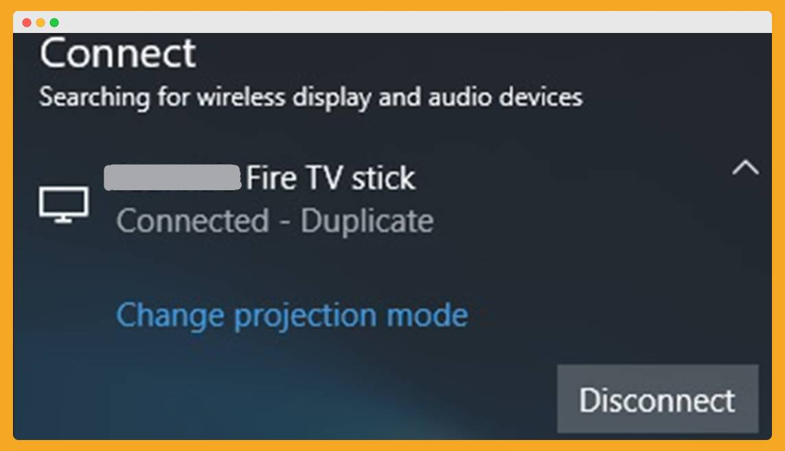 Cast-To-Firestick-Connected