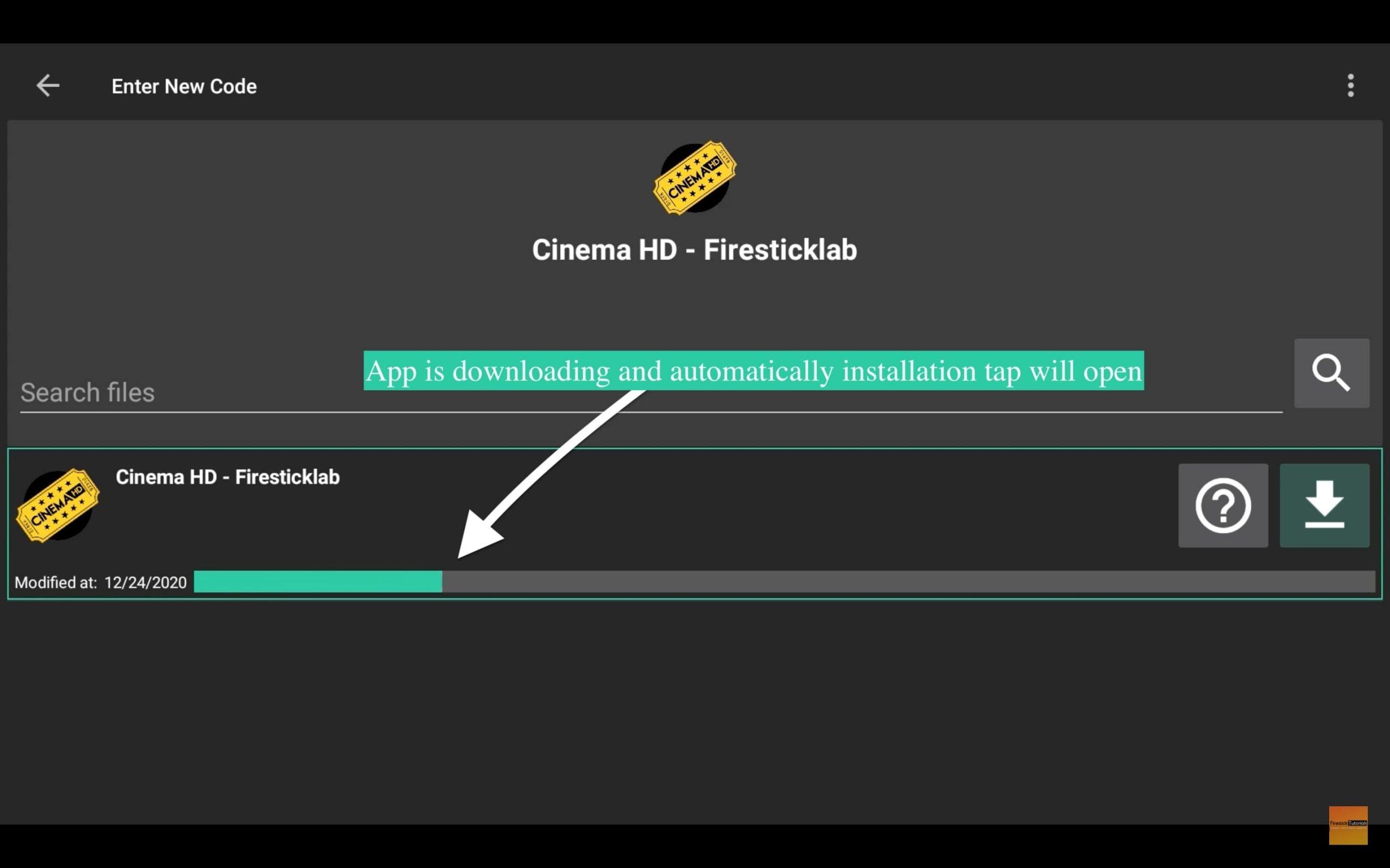 Filelinked-App-downloading