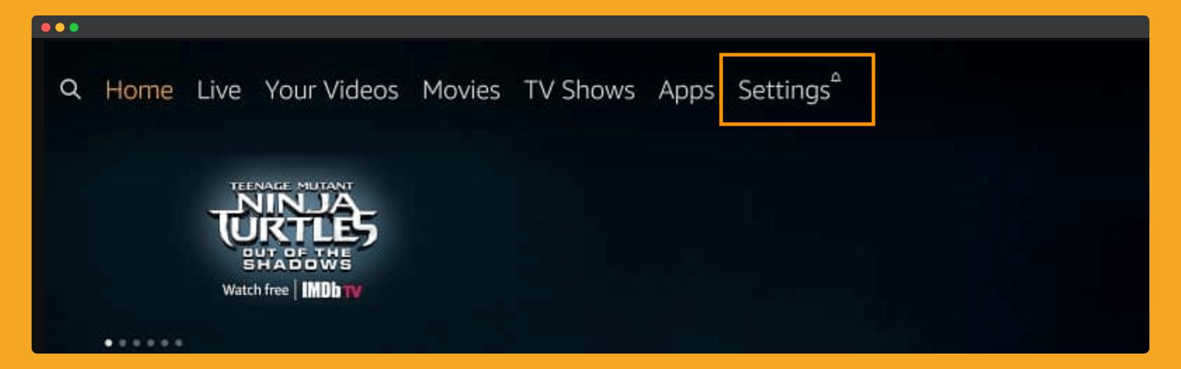 To-Update-Firestick-Click-on-Setting