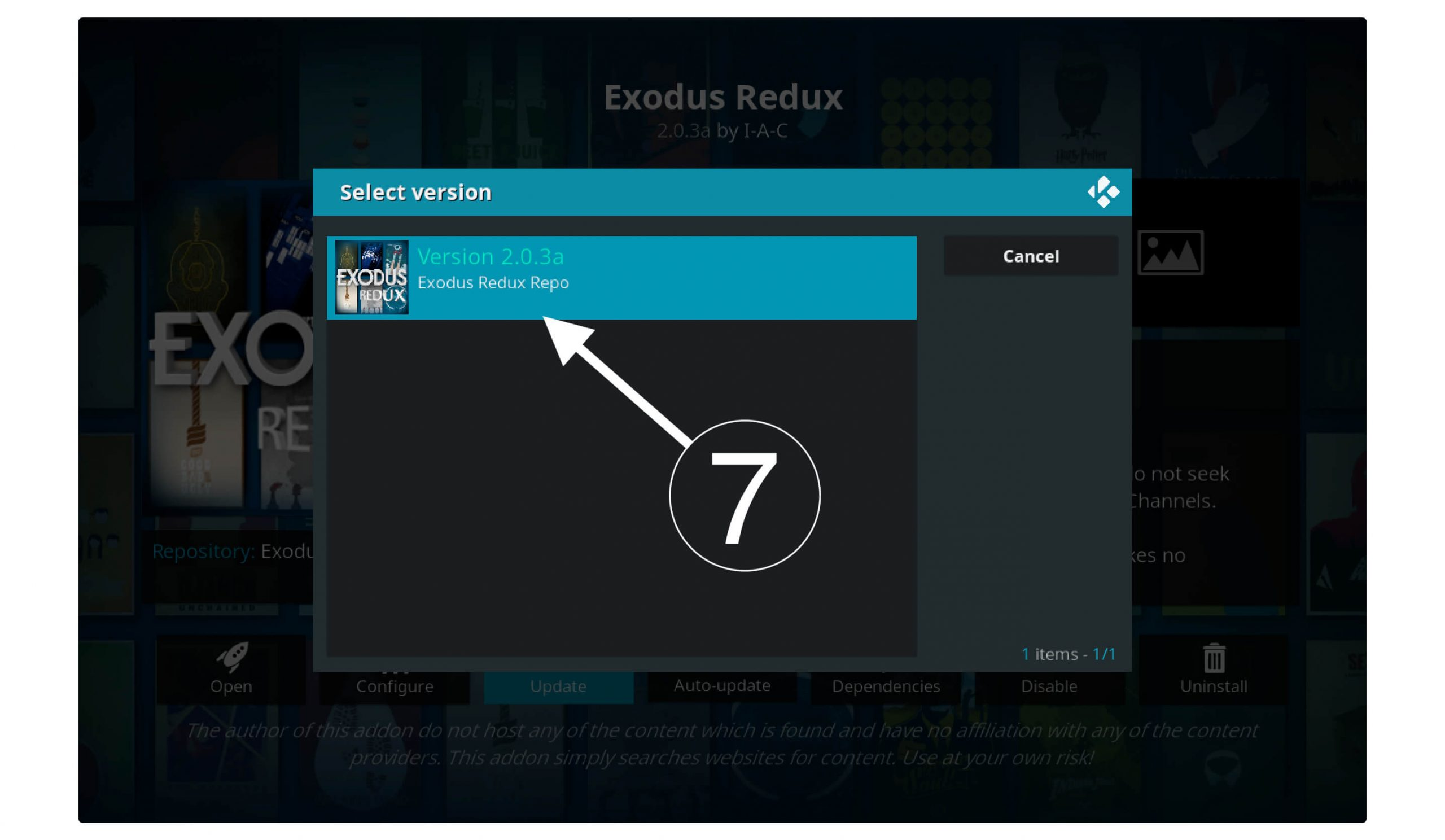 Fixing-Exodus-Redux-Not-Working