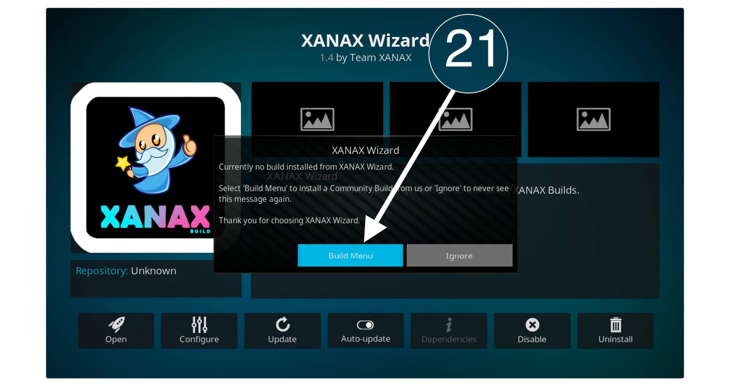 Installing-Xanax-Kodi-Build