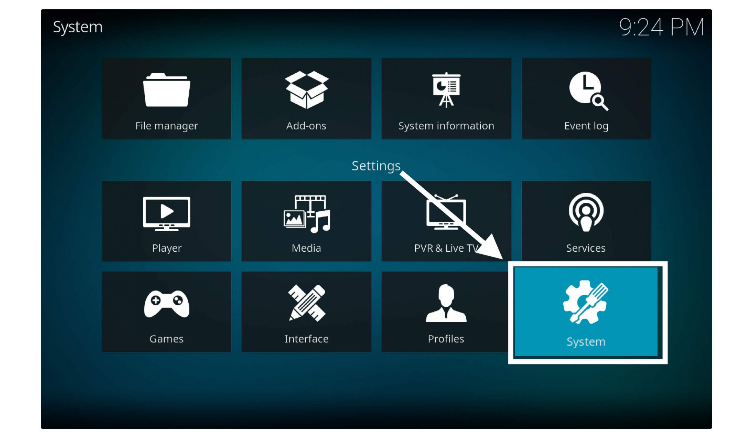 System-Setting-in-kodi
