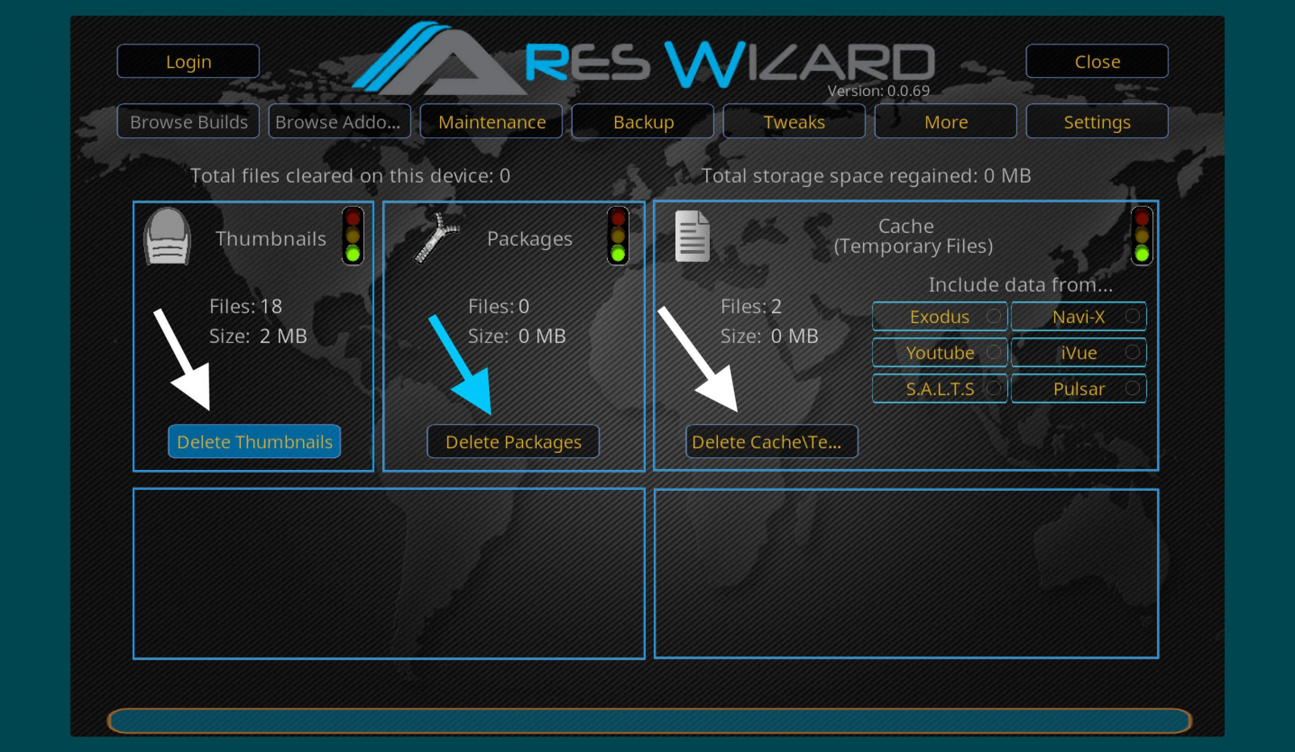 how-to-fix-kodi-buffering-using-Ares-Wizard