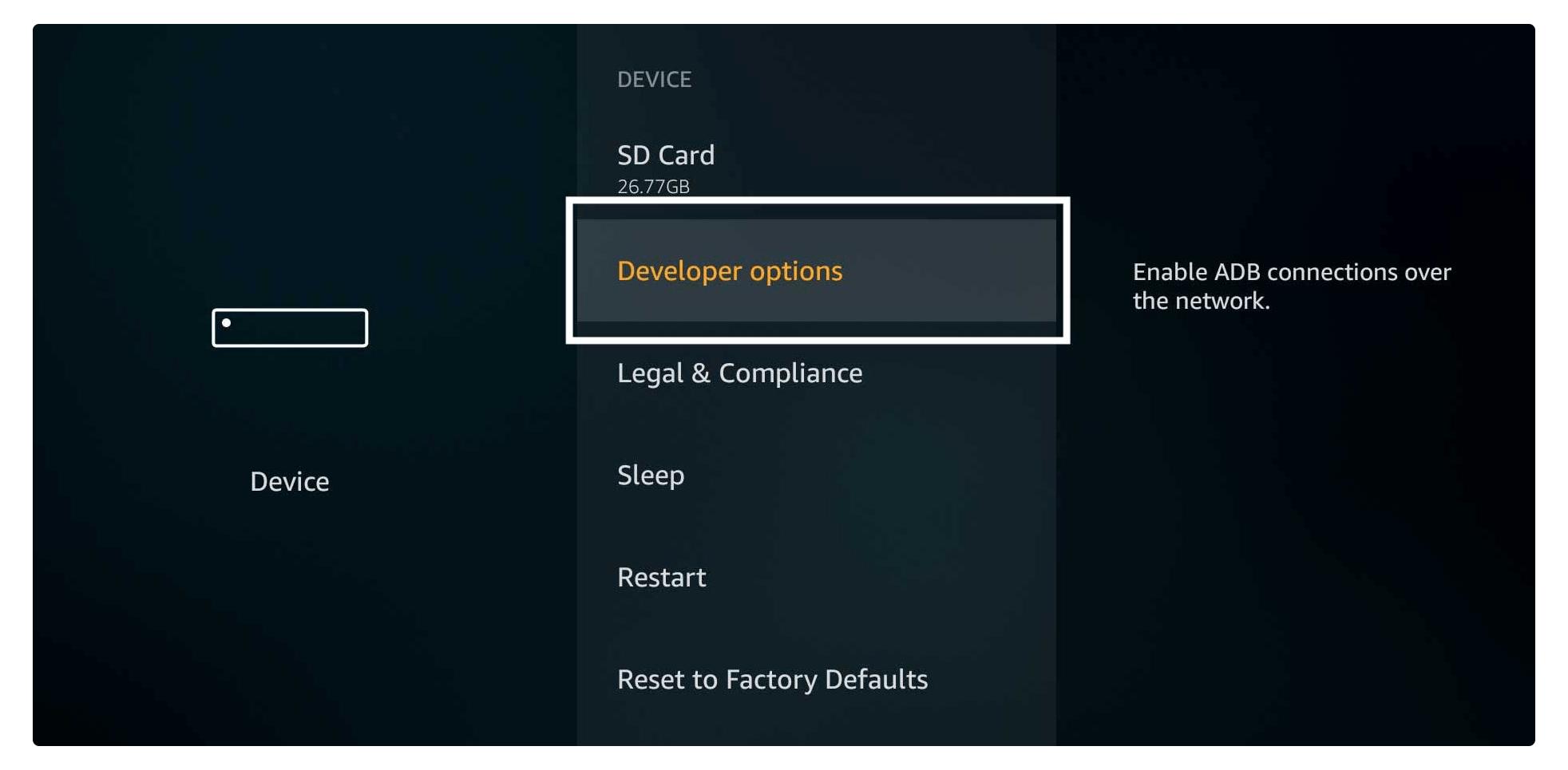 Developer-Options