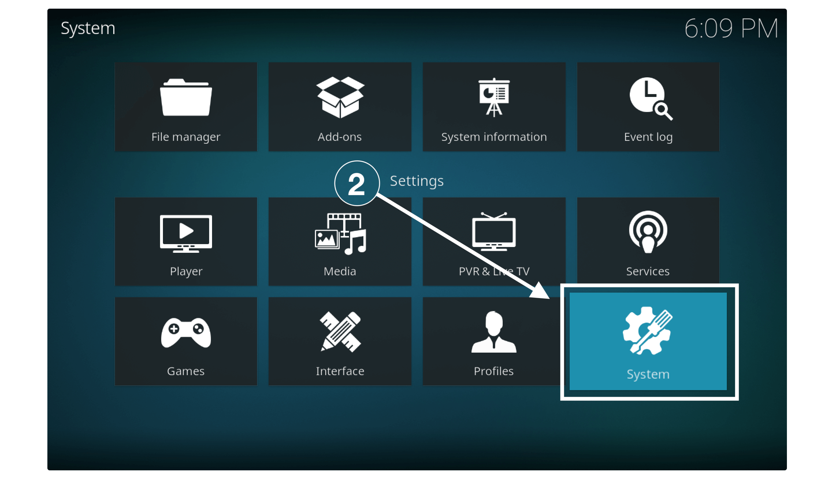 Turn On Unknown Sources to Install TVAddons