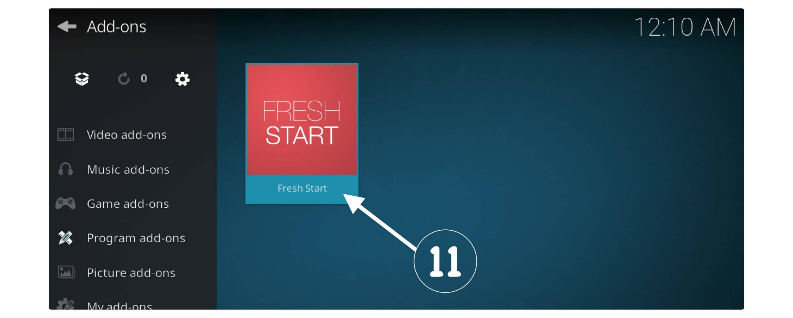 Fresh-Start-Kodi