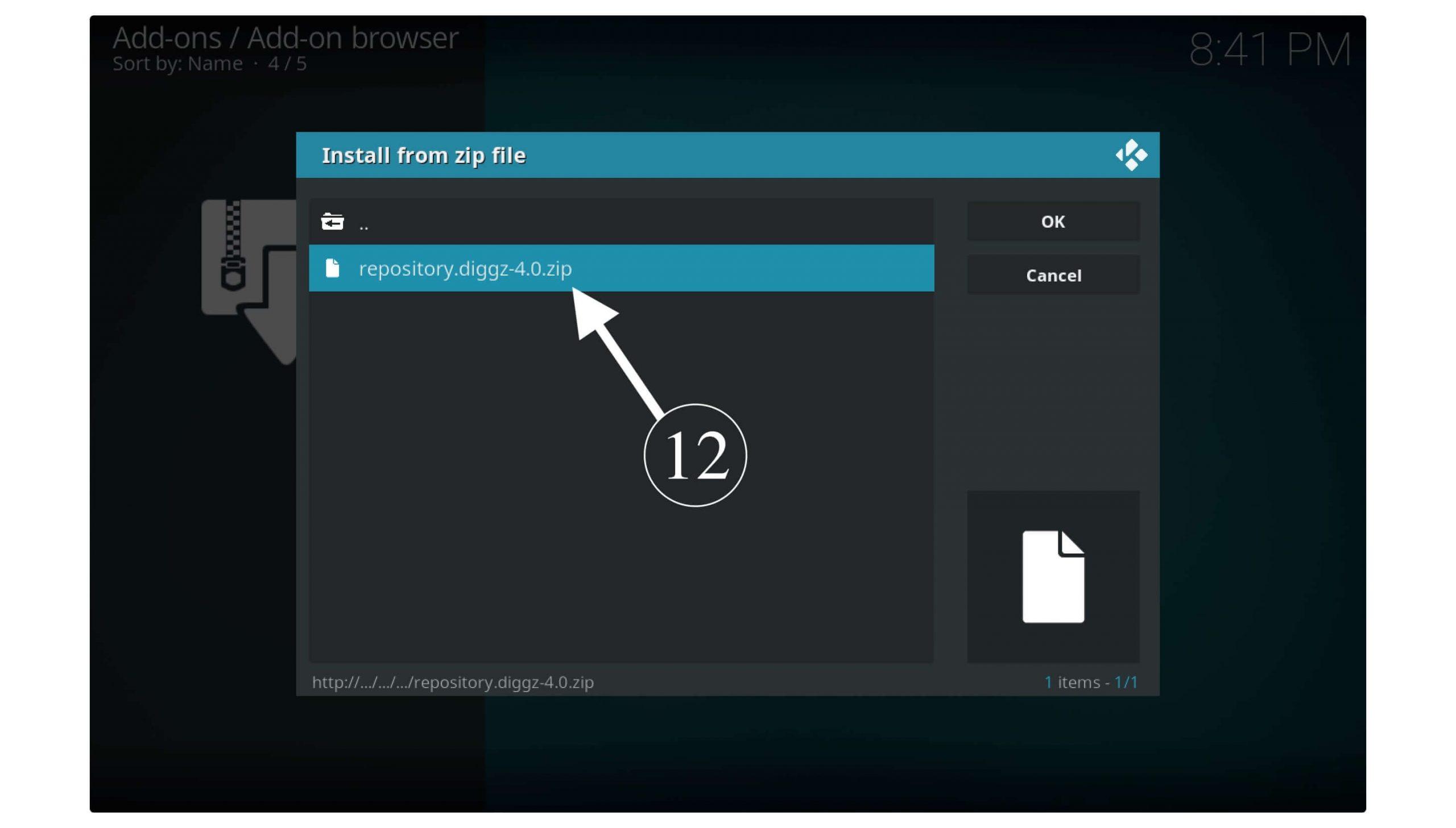 Installation-Guide-On-Diggz-Xenon-Build-On-Kodi