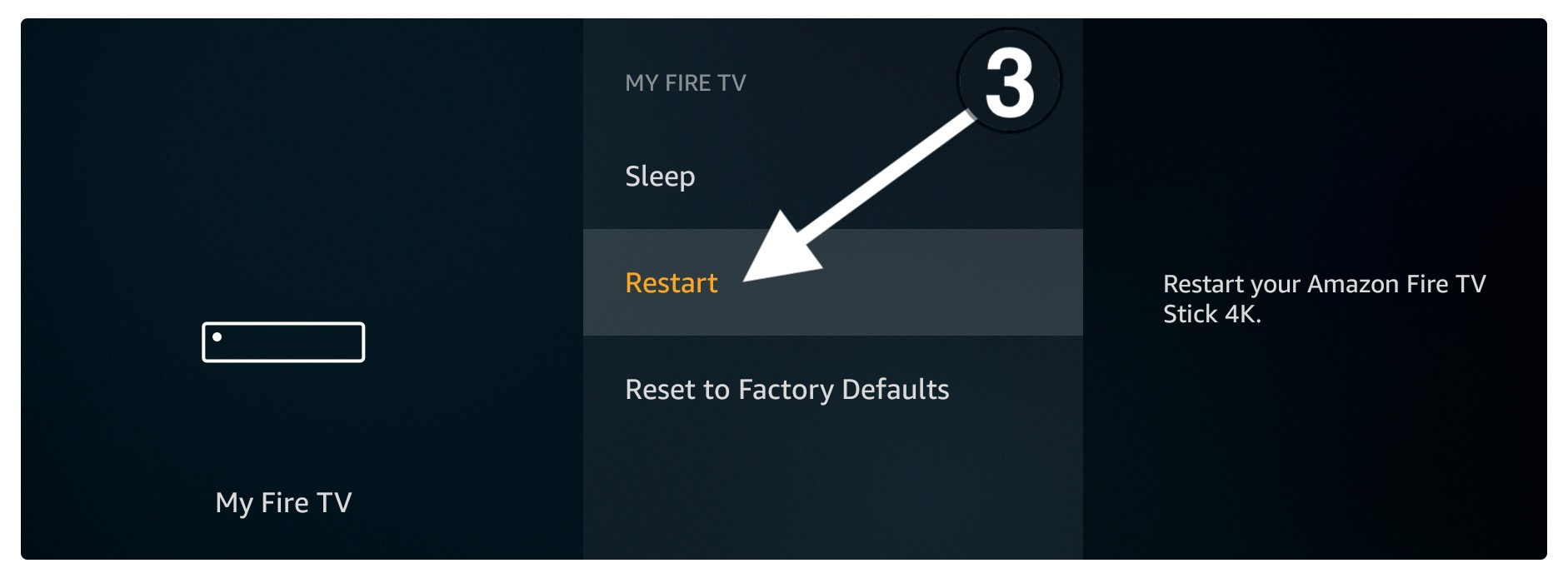 Fix-hulu-not-working-by-Restart-Firestick