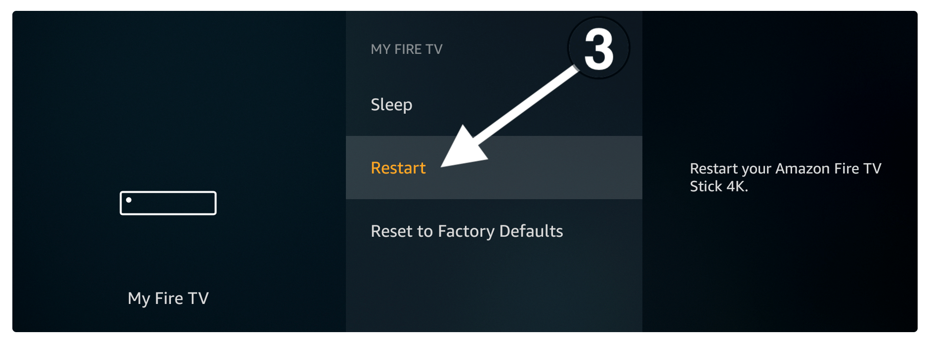 Fix-hulu-not-working-by-Restart-Firestick