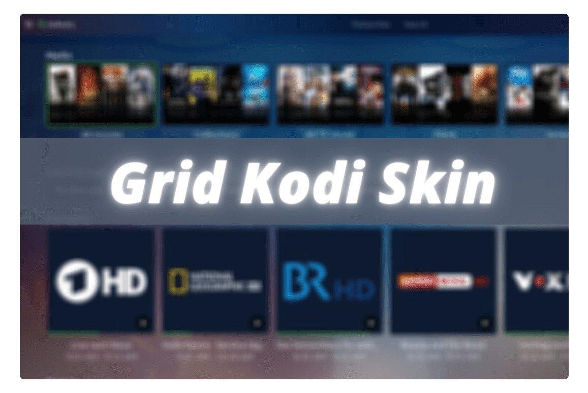 Grid-Kodi-Skin