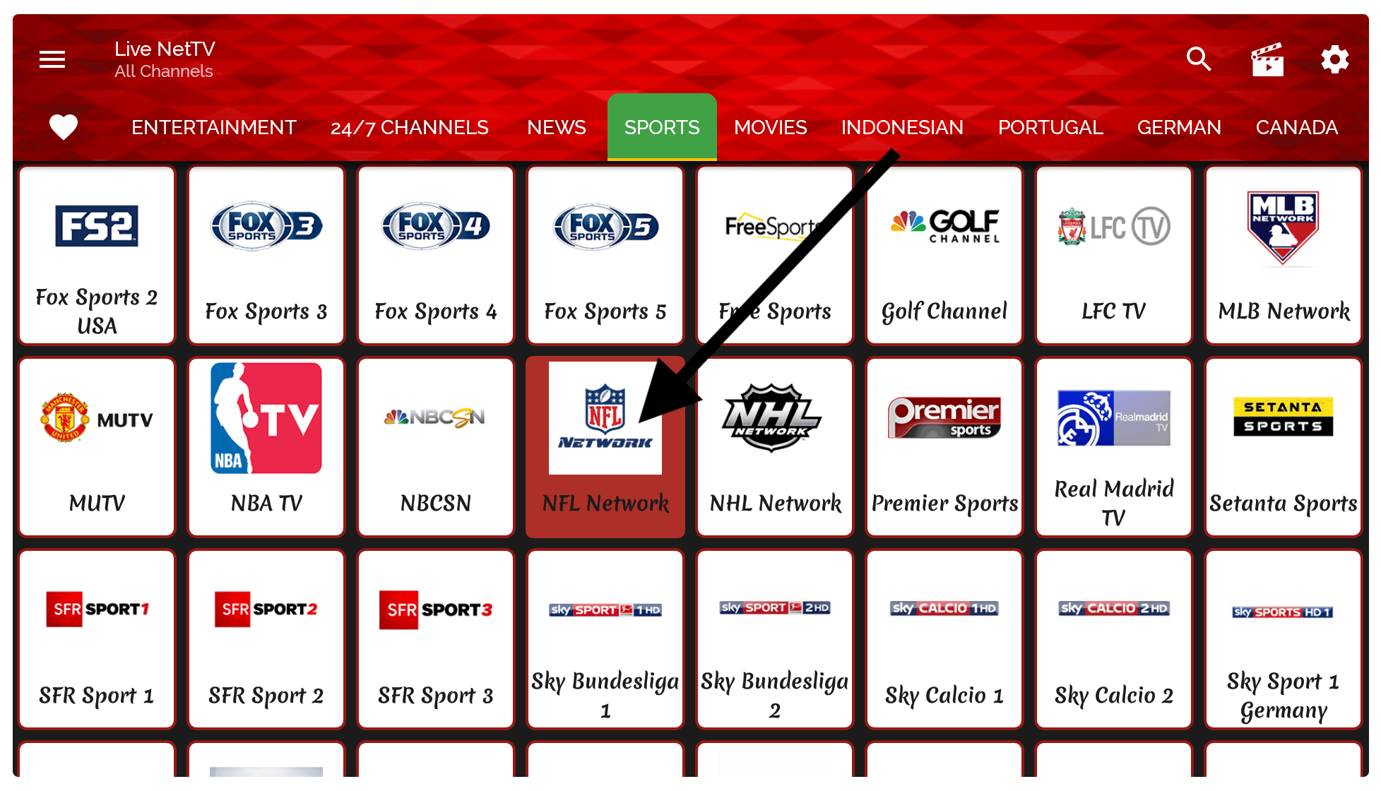 NFL-Firestick