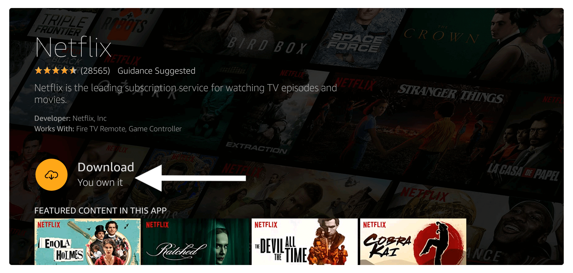 Netflix-on-Amazon-Firestick
