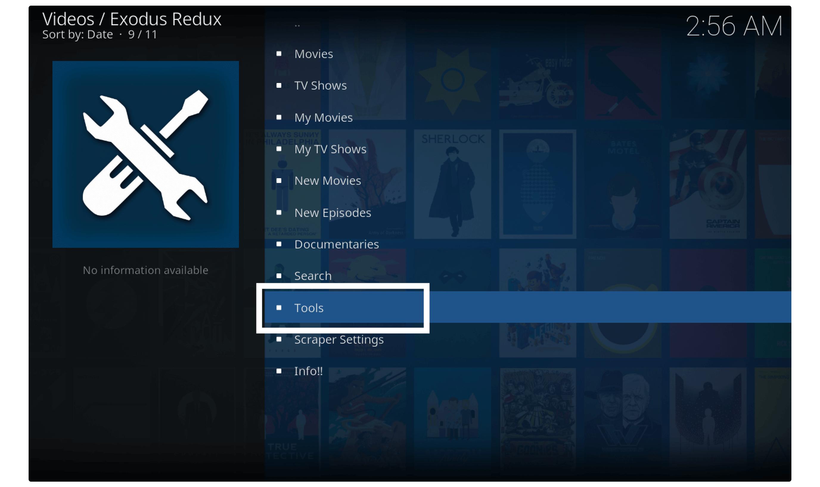 exodus-redux-no-stream-available-error