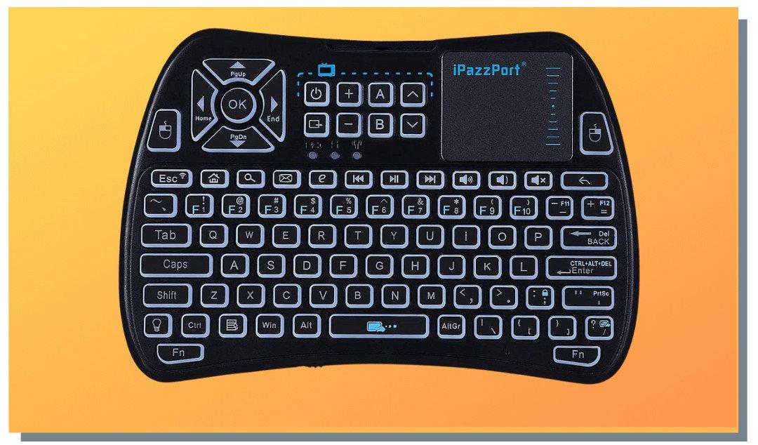 iPazzPort-Mini-Bluetooth-Wireless-Keyboard-For-Amazon-Firestick