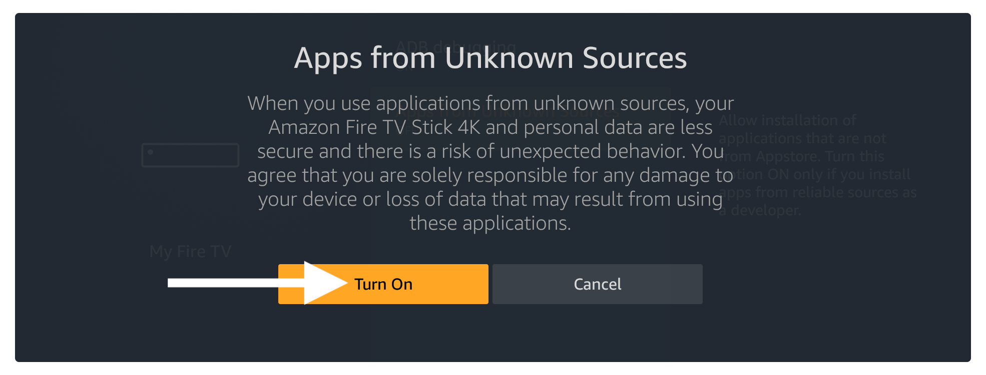 netflix-ask-for-enable-the-Unknown-Source-option-in-firestick