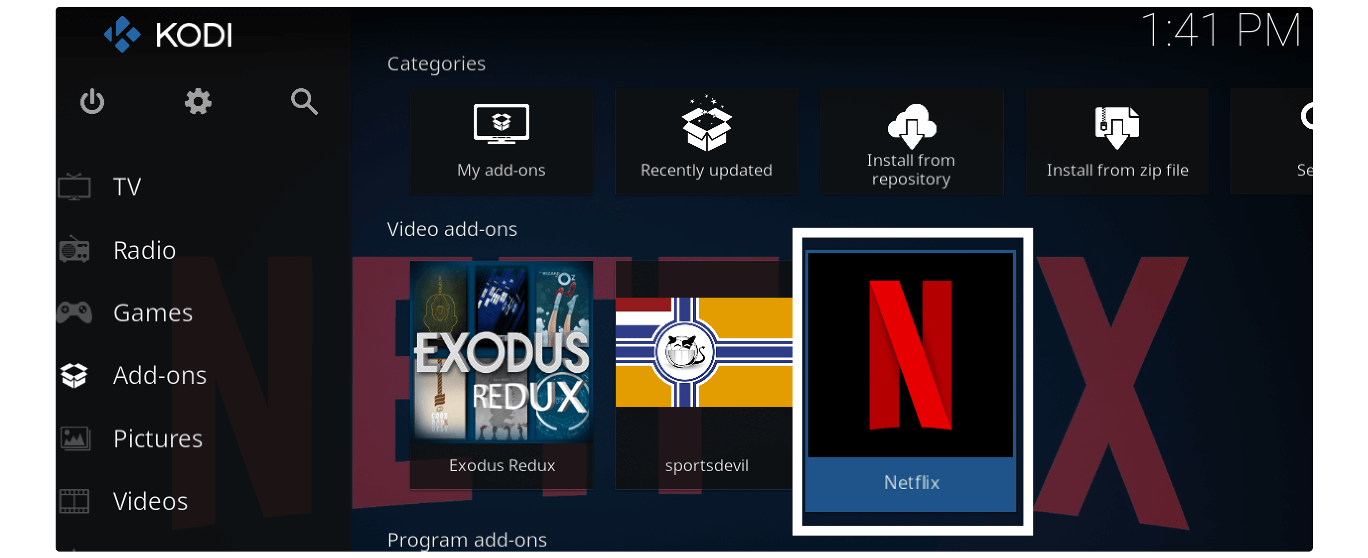 Put-Netflix-Addon-On-Kodi