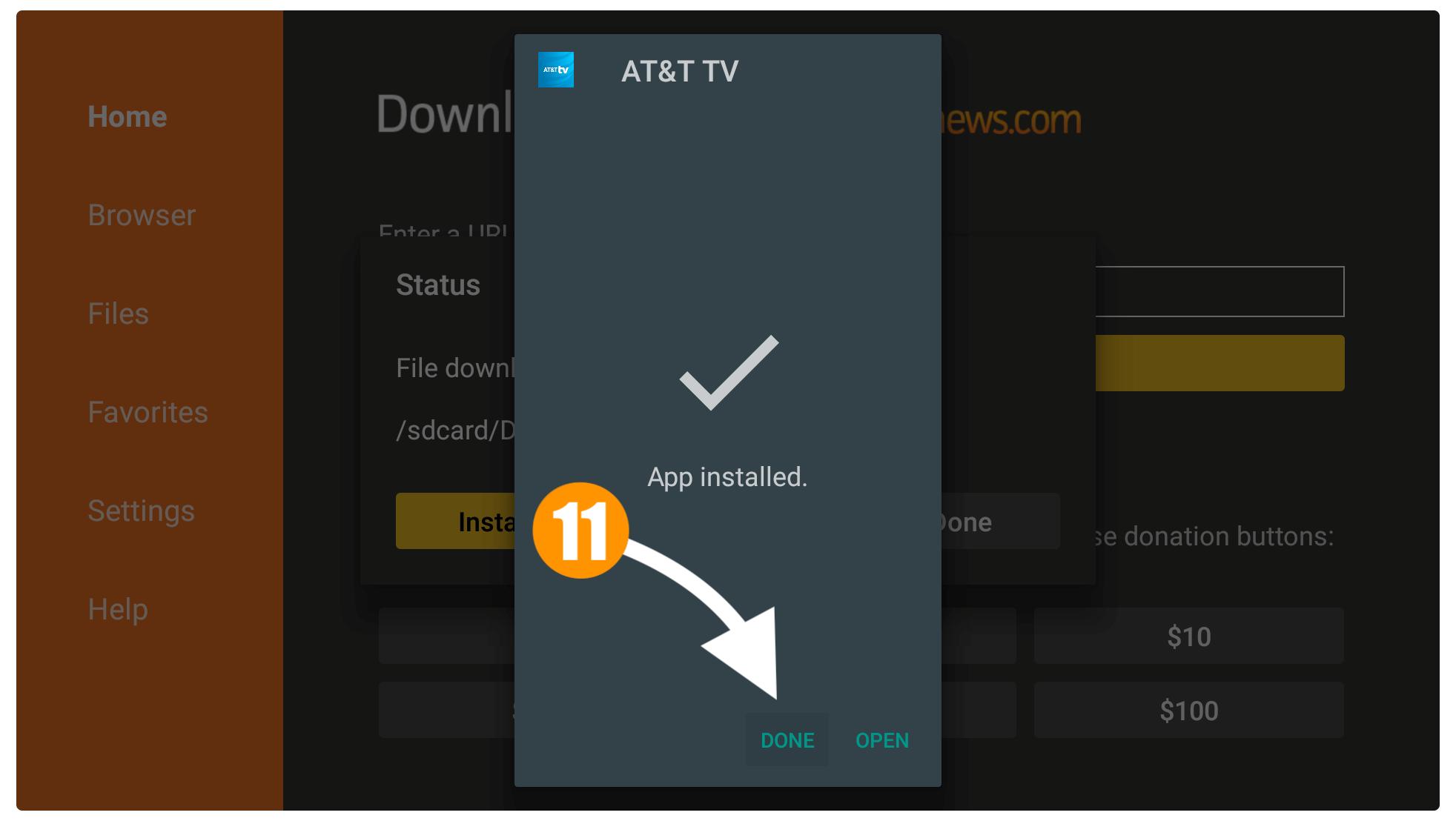 DirecTV-APK-on-Firestick