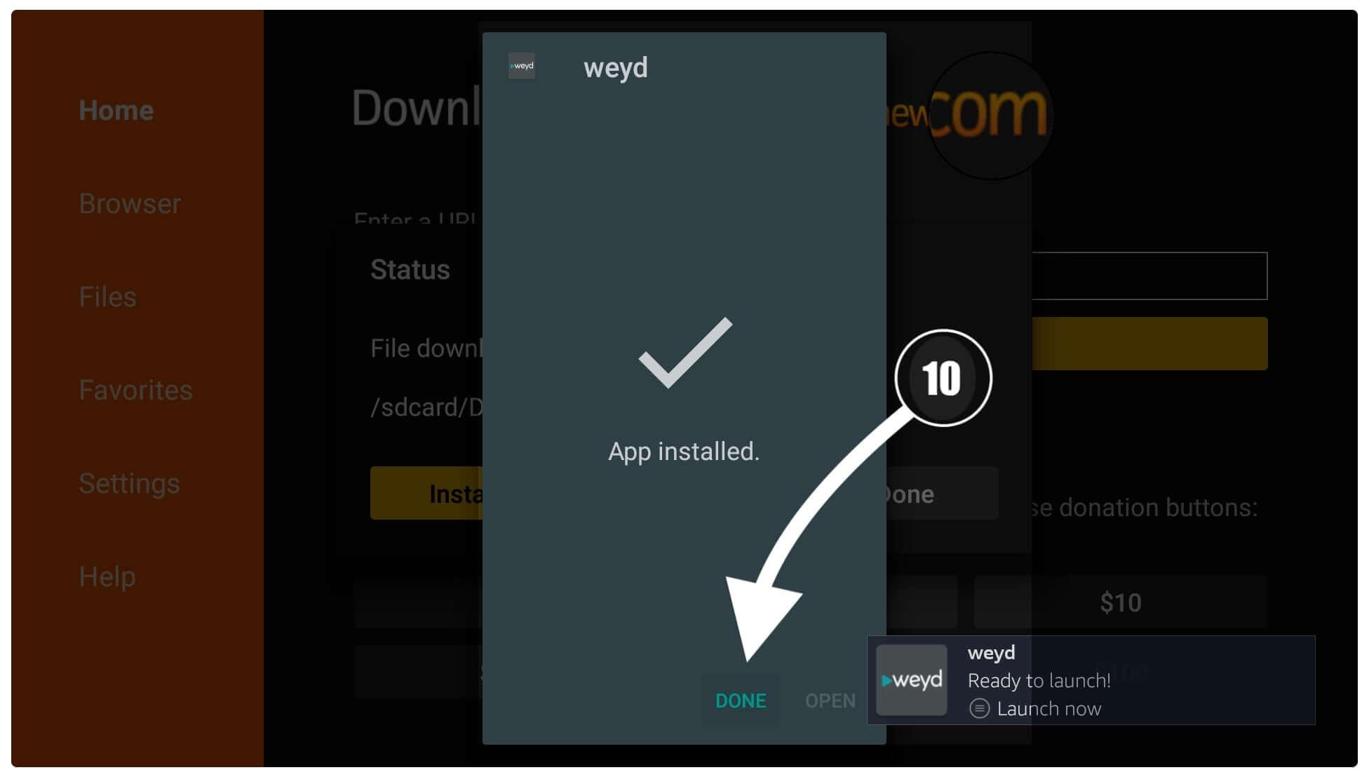 Download-Weyd-APK-on-Firestick