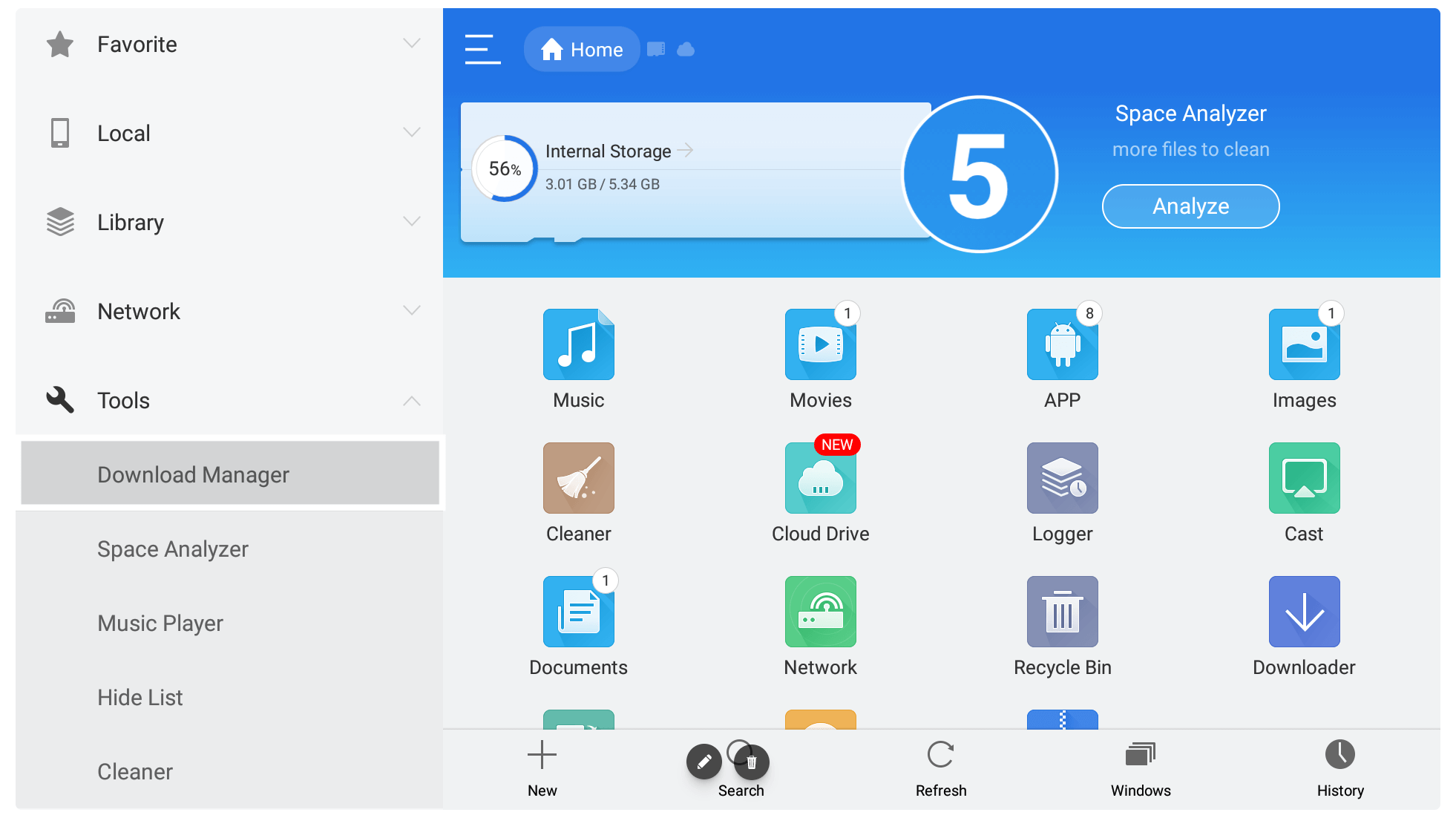 Use-and-Download-Apps-using-ES-File-Explorer