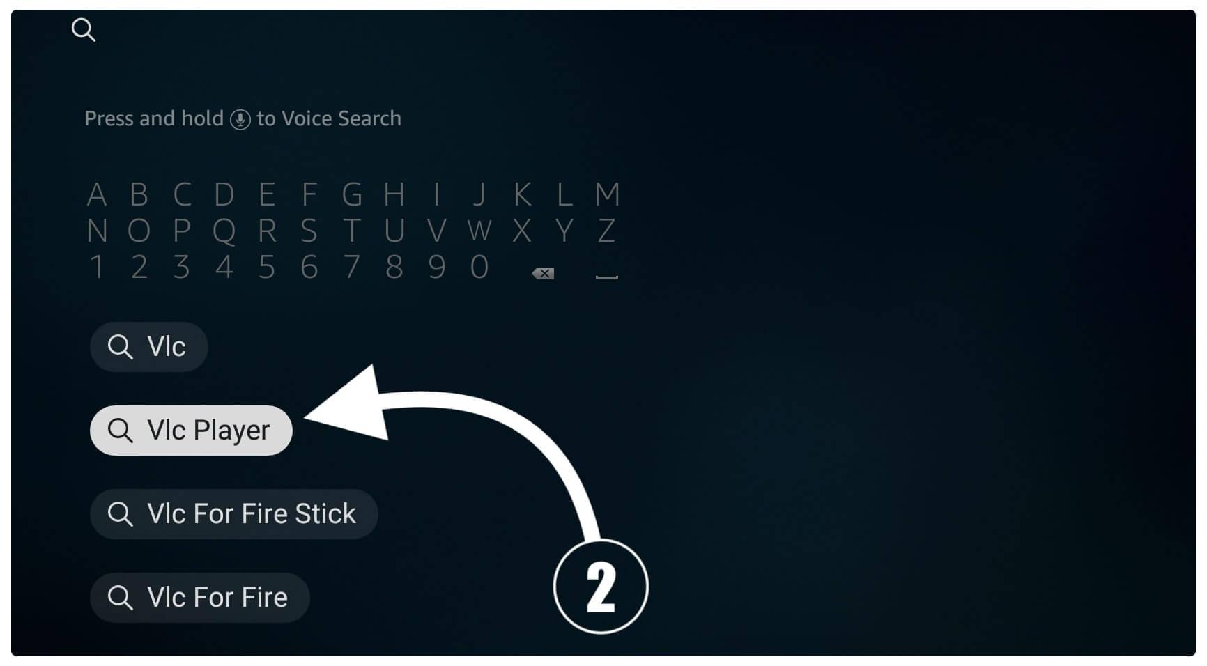 VLC-Firestick