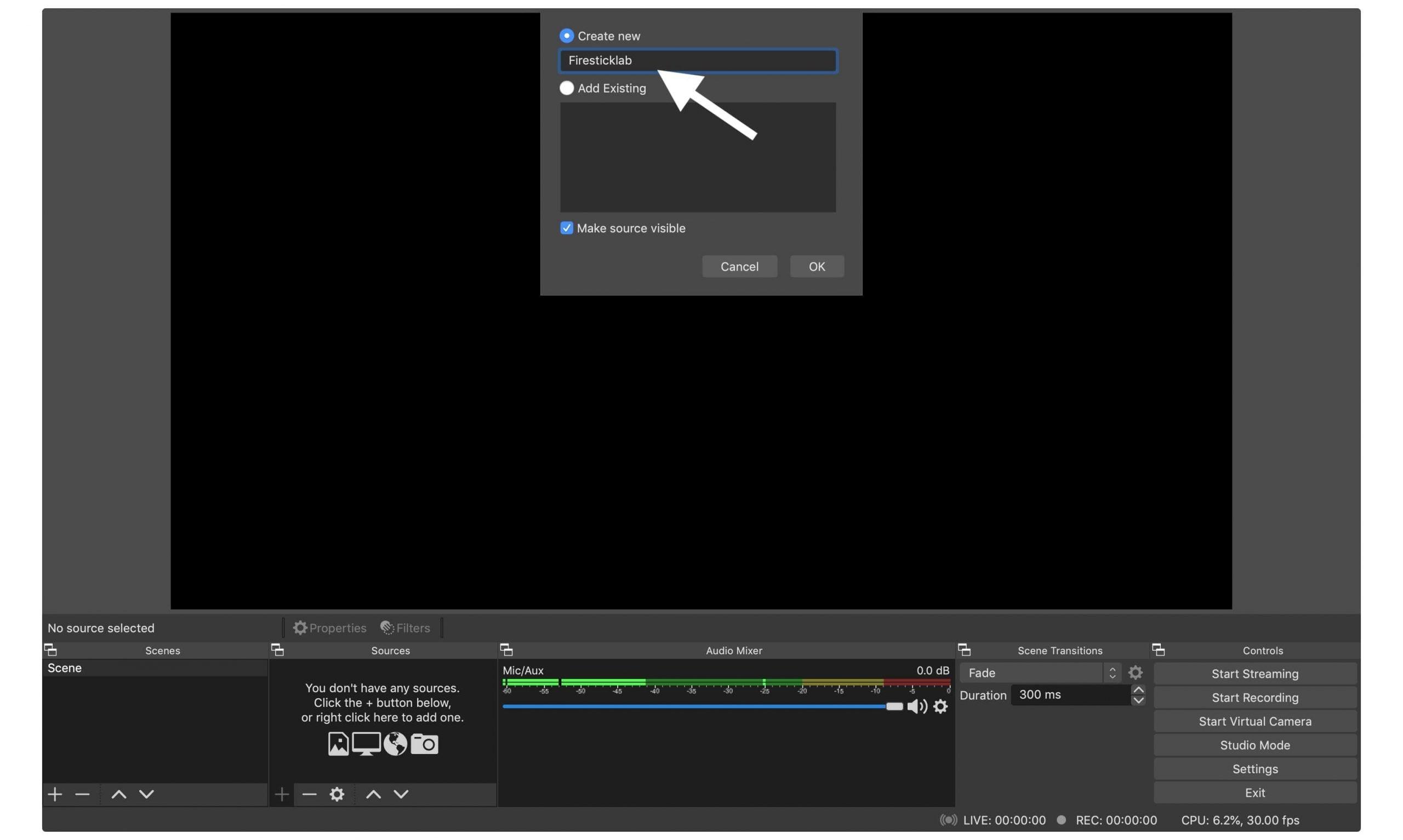 Video-Capture-HDMI-Firestick-on-Laptop