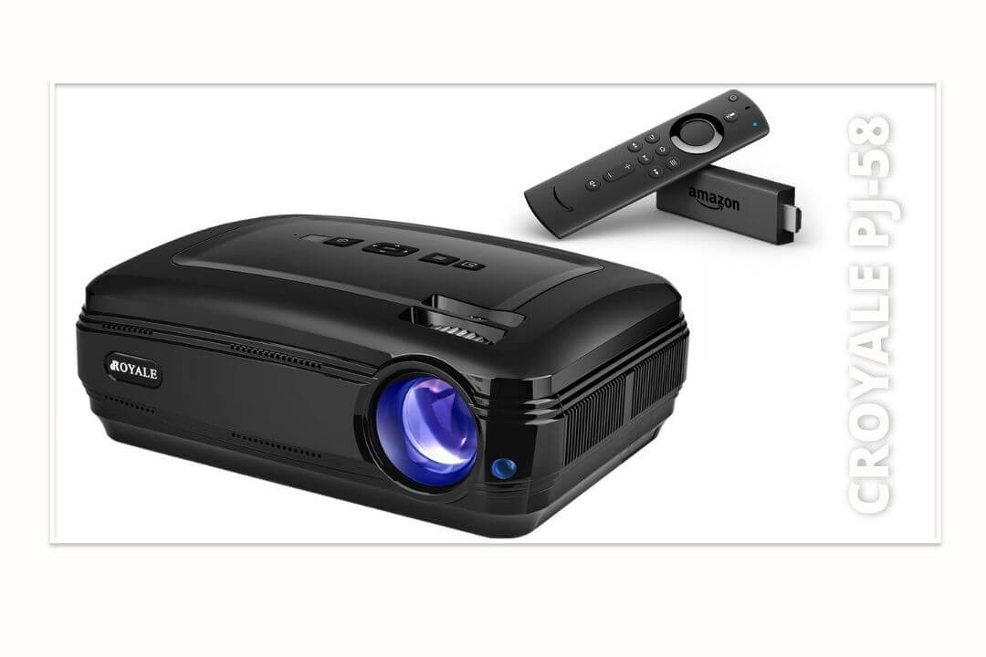 CROYALE-PJ-58-Video-Amazon-Firestick-Projector