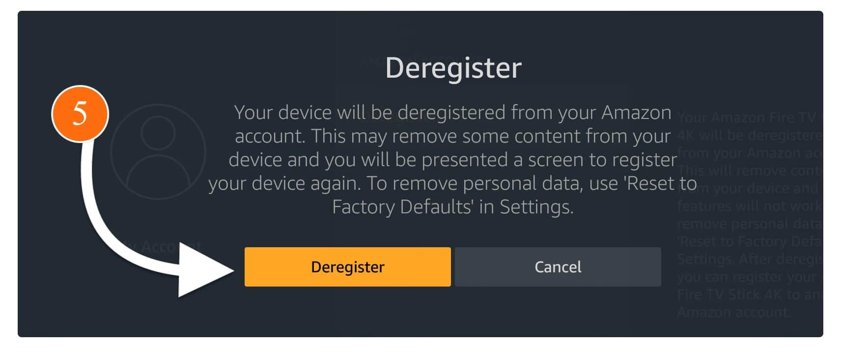 Deregister-Firestick