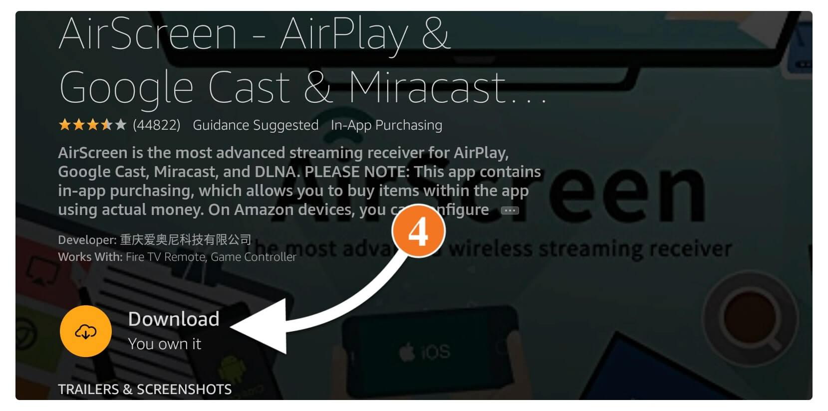 Mirror-iPhone-To-Amazon-Firestick