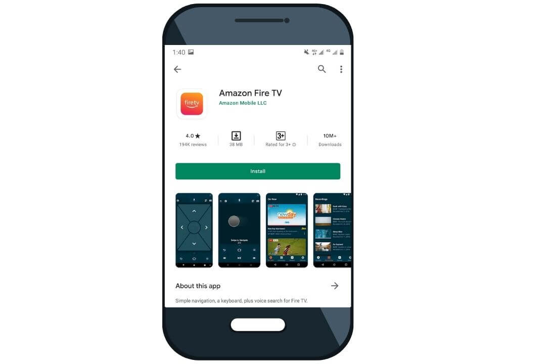 Mobile-Phone-as-a-Firestick-Remote