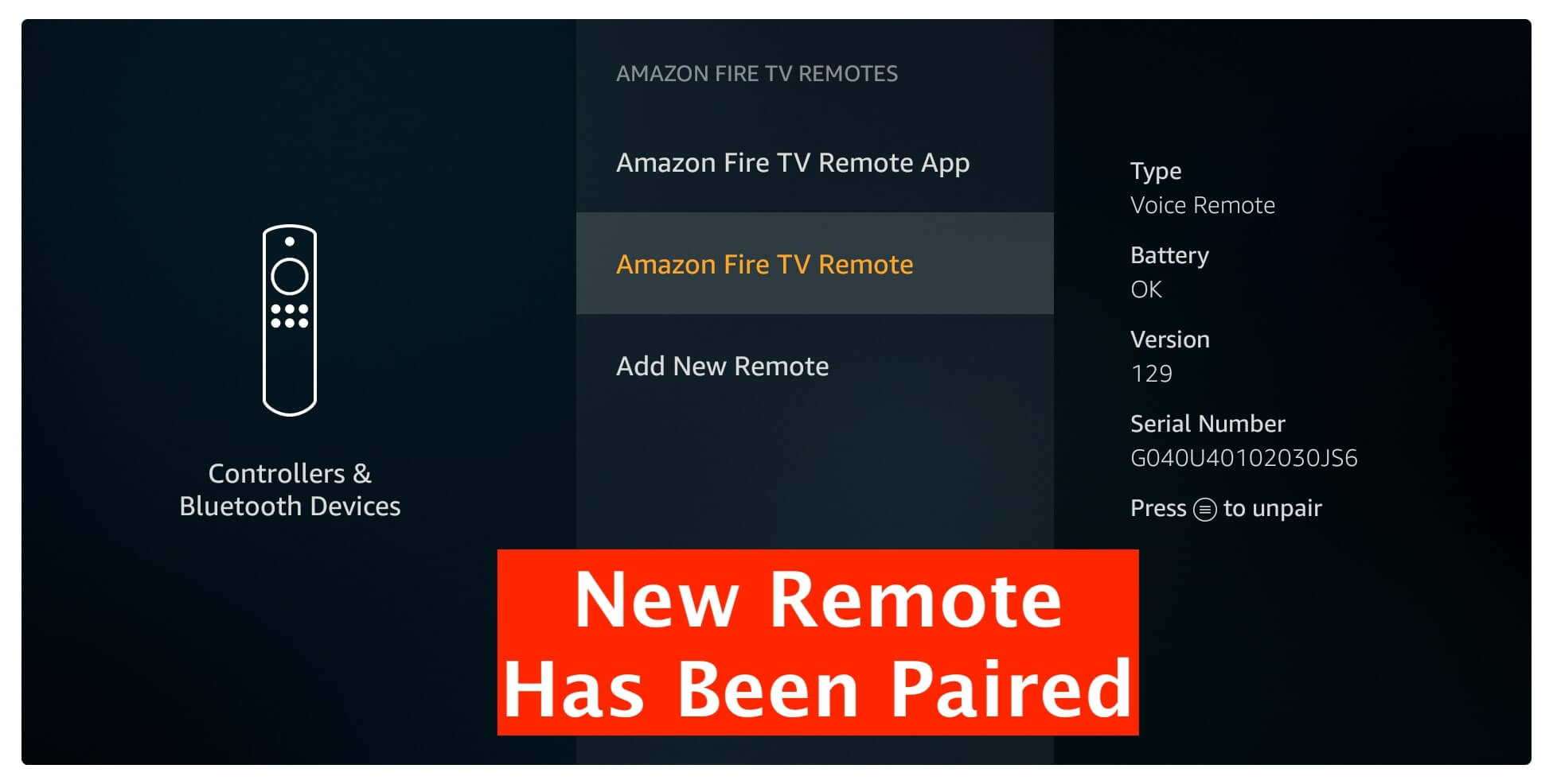 Pair-a-Replacement-Remote