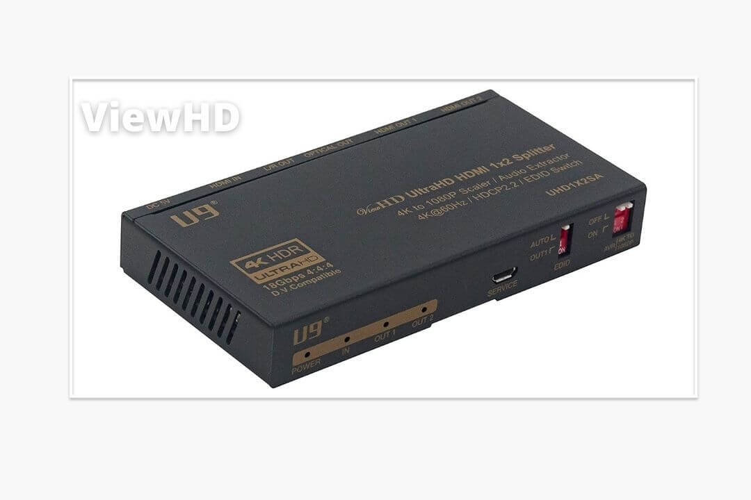 ViewHD-HDMI-Splitter-4K-with-Audio-Extractor